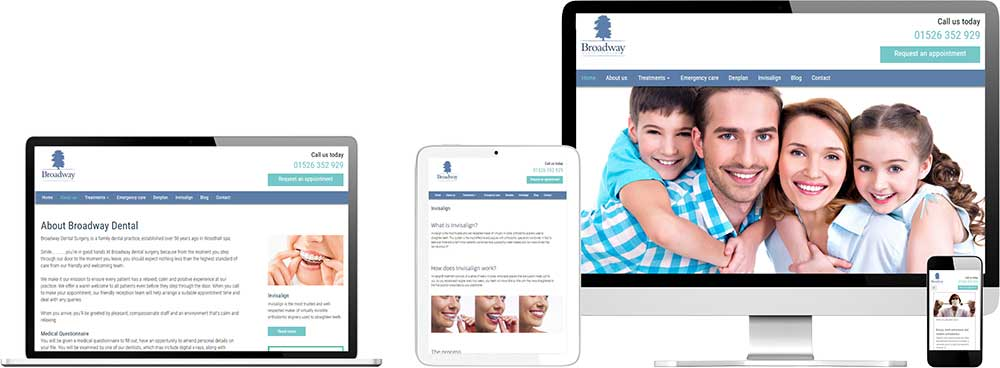Website case study for Dentist Website Snap