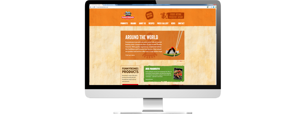 Website case study for food distribution company Website Snap