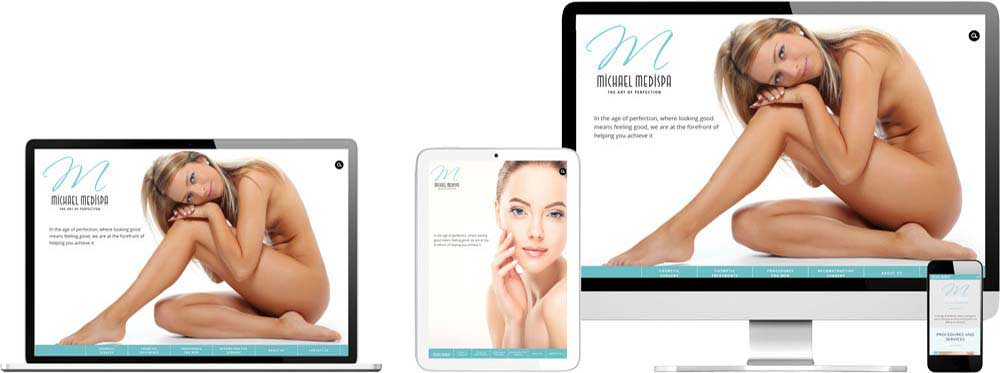 Website case study for Plastic Surgeon Website Snap